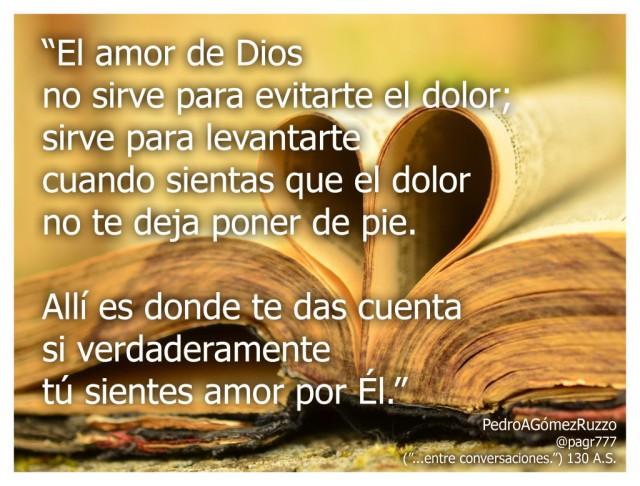 El amor de Dios sirve PARA